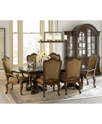 6 piece living room set decorating ideas colours furniture lakewood 9 dining double pedestal table