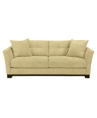 galileo cream microfiber queen sleeper sofa arm rest cup holder cooper ...
