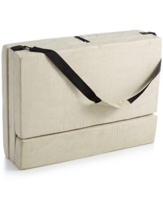 Homedics The Crash Pad Instant Folding Bed  Mattress Pads