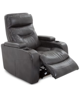 electric recliner sofa not working cotton throw overs furniture clancy fabric power macy s