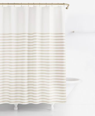 Kate Spade New York Harbour Stripe Shower Curtain Shower Curtains Bed Amp Bath Macys
