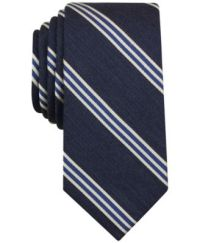 Bar III Men's Questa Stripe Slim Tie, Only at Macy's ...