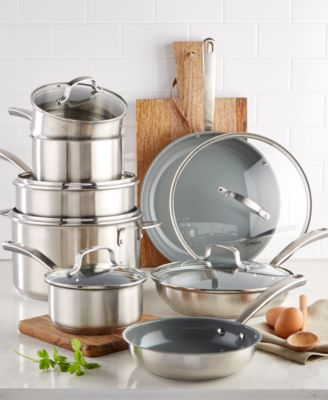 macy's kitchen sets home depot fan martha stewart collection 14 pc cookware set created for macy s main image