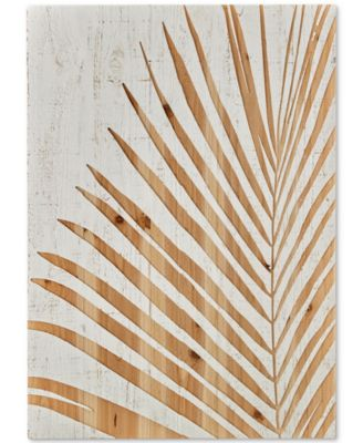 Graham & Brown Palm Leaf Wood Panel Wall Art