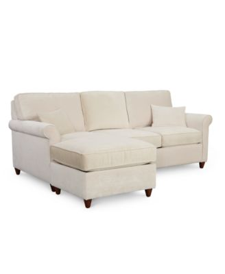 sofa bed and chaise best fabric to reupholster a furniture lidia 82 2 pc sectional queen sleeper
