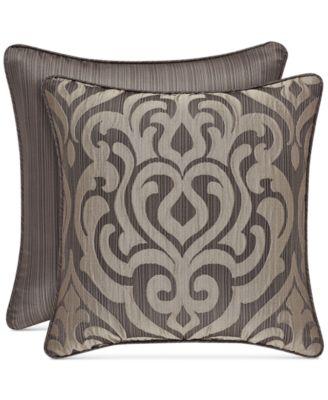 brown decorative pillow throws