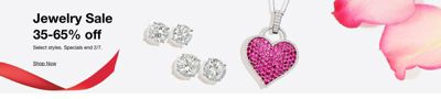 Jewelry Sale 35-65% off, Specials end 2/7, Shop Now