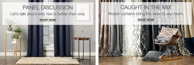blinds for living room with curtains decorative accents all window treatments curtain rods more macy s panel discussion shop now caught in the mix