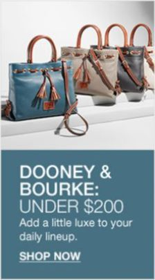 Dooney and Bourke:Under $200, Shop Now