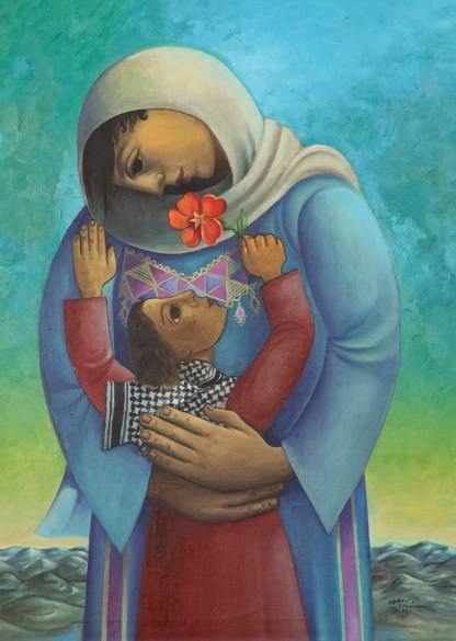 Mother's Day - Sliman Mansour