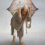Camel of Hardhips - Sliman Mansour