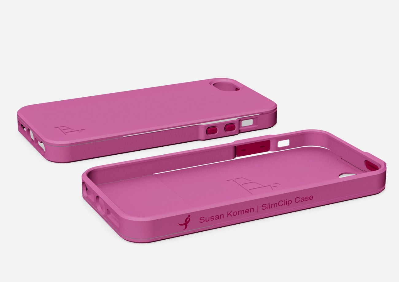 SlimClip Case + Susan Komen Fights Breast Cancer