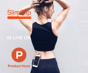 SlimClip Case for iPhone by theWTFactory is on Product Hunt