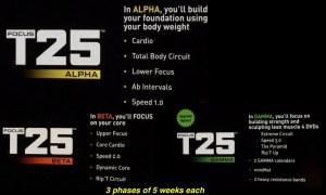 T25 phases: Alpha, Beta, Gamma