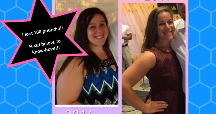 Amanda Lost 100 Pounds! Guest Post