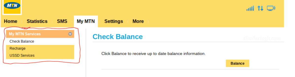 How To Check Balance With MTN Turbornet router