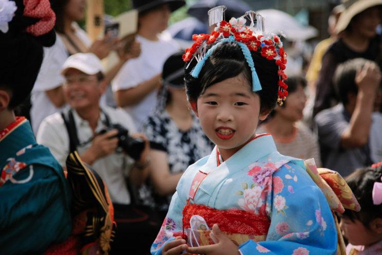 [ 夏日福島 ] 會津田島祇園祭。日本第一的花嫁行列。 – 細腿男/ 旅行.攝影.生活