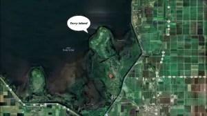 Torry Island in Lake Okeechobee