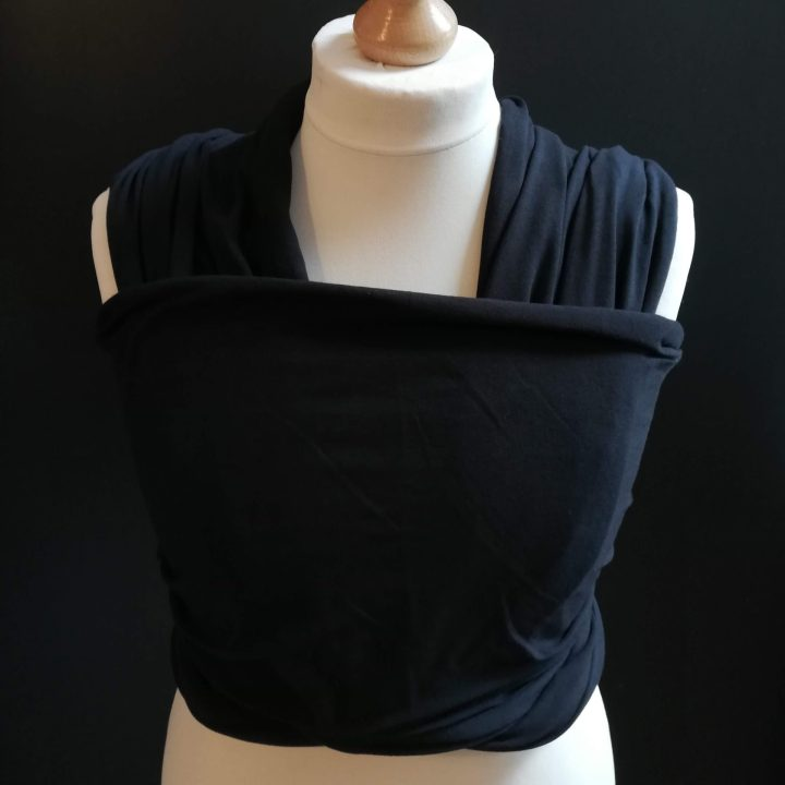 black stretchy wrap