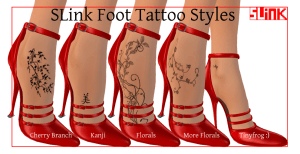 slink-foot-tattoo-styles