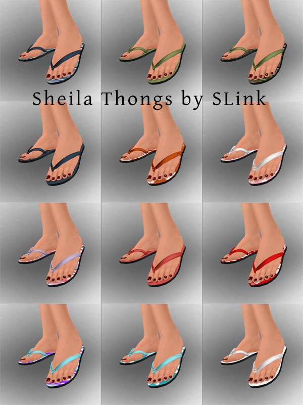 Sheila thongs web