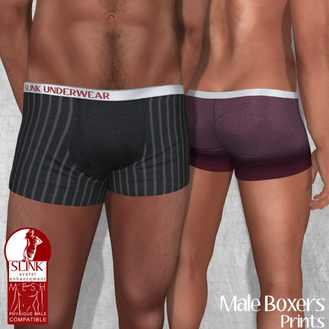 Slink - Male Boxers - Prints Ad