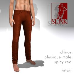 Chinos spicy red_1