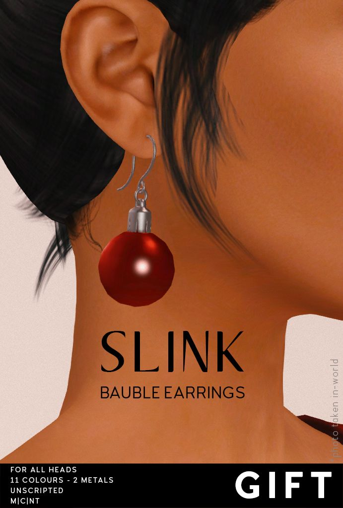 Slink Bauble Earrings Gift