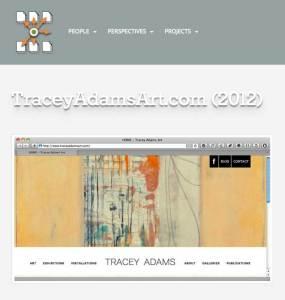 tracyadamsart (Websites produced by Holger)