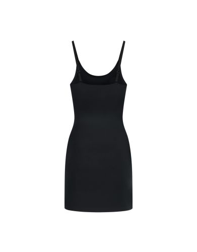 invisible singlet dress black back product 391x500 - Bye Bra Invisible Singlet Dress – Black