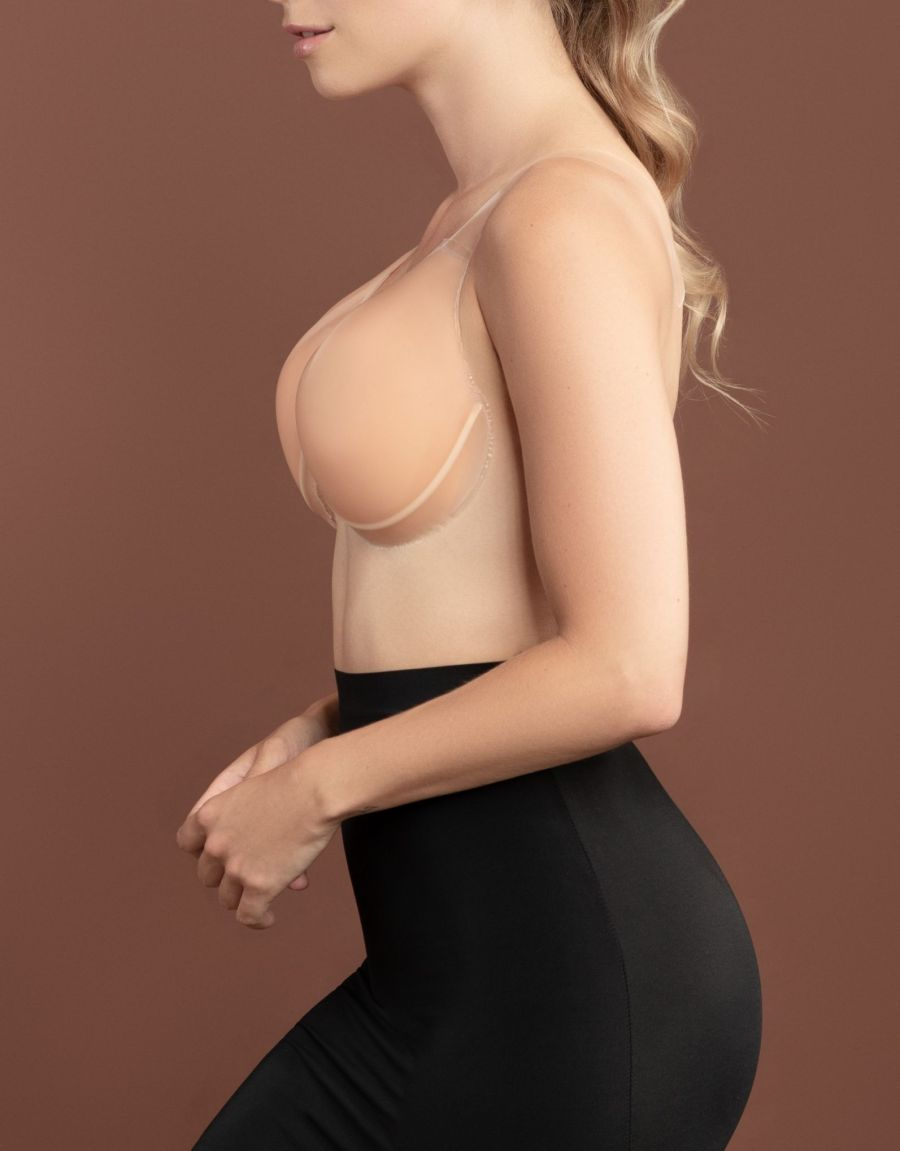 sculpting silicone lifts side - Bye Bra  BREAST LIFT-FABRIC NIPPLE COVERS