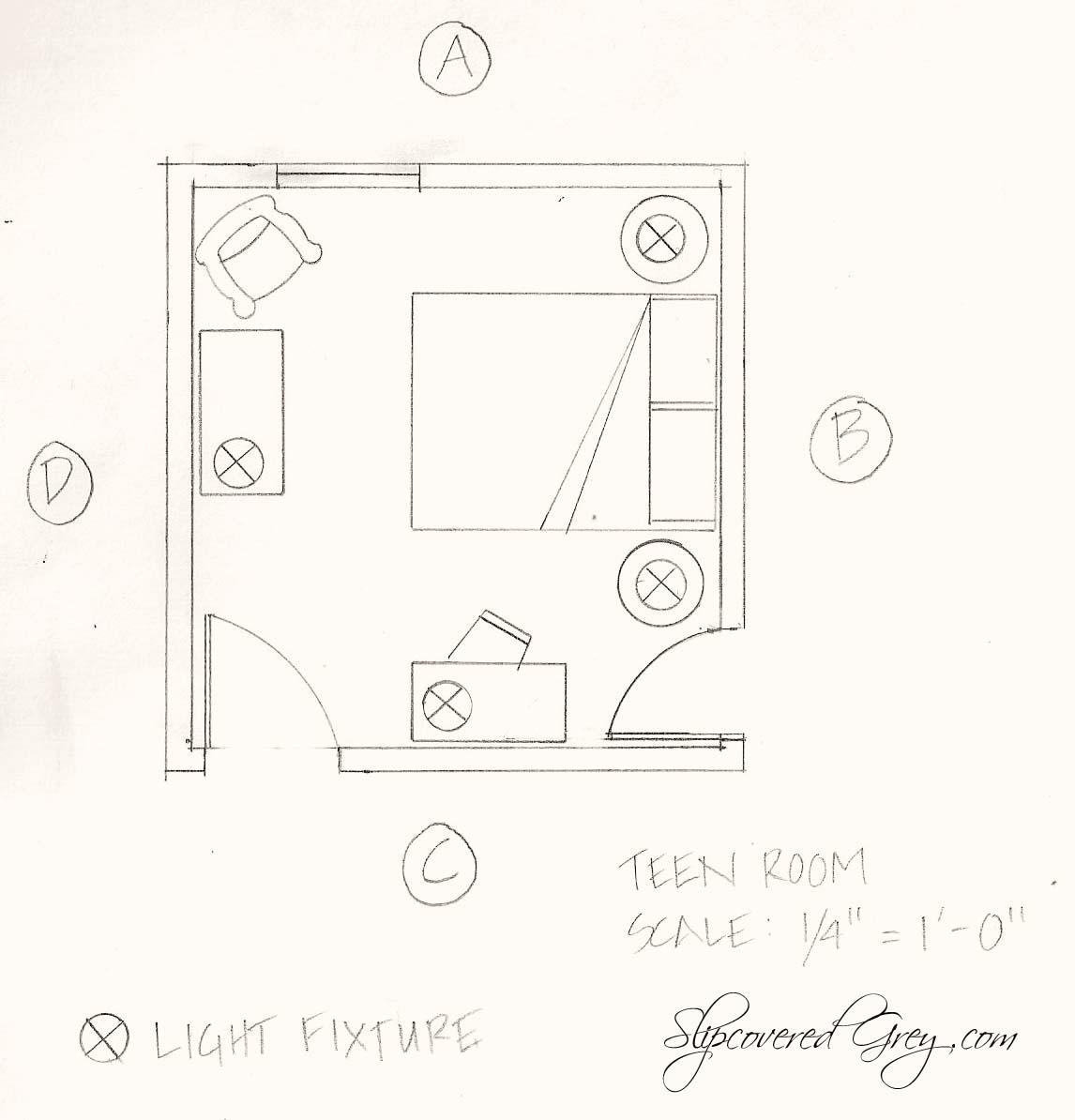 hight resolution of tutorial floor plan