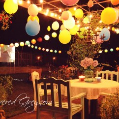 Outdoor Chairs Target Wrought Iron Patio Table And 4 Movie Birthday Celebration - Slipcovered Grey