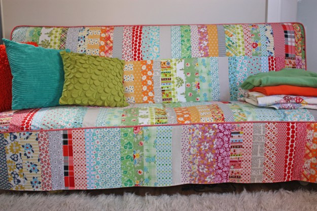 Patchwork Slipcover by Ballarat Patchwork