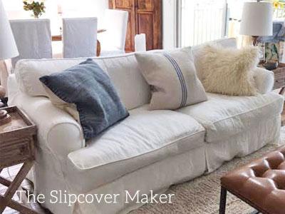 Favorite White Linen for Sofa Slipcovers