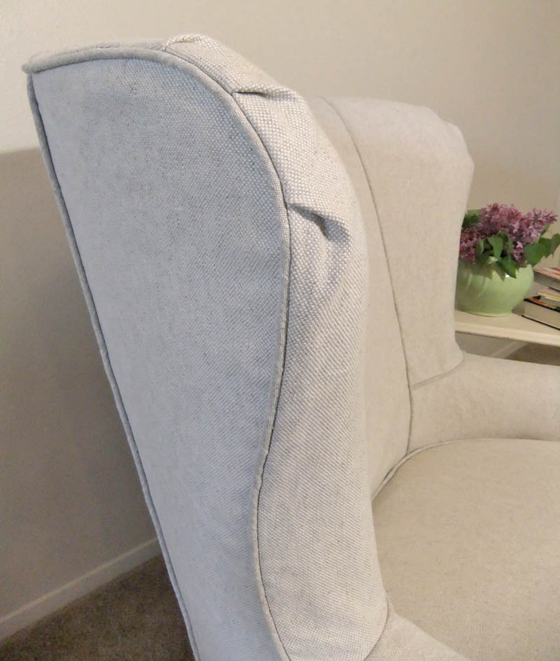 Linen Cotton Slipcover by Karen Powell