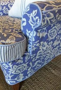 Floral Slipcover by Karen Powell