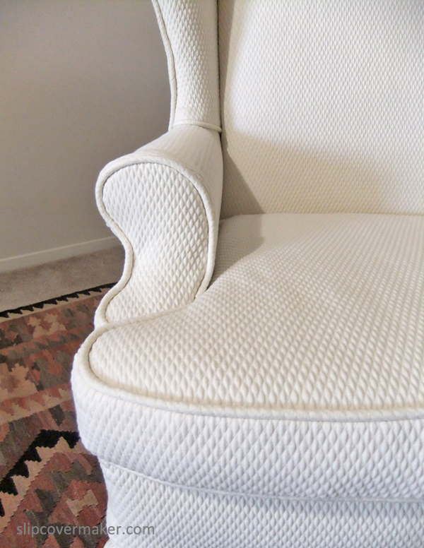 Matelasse Slipcover by Karen Powell