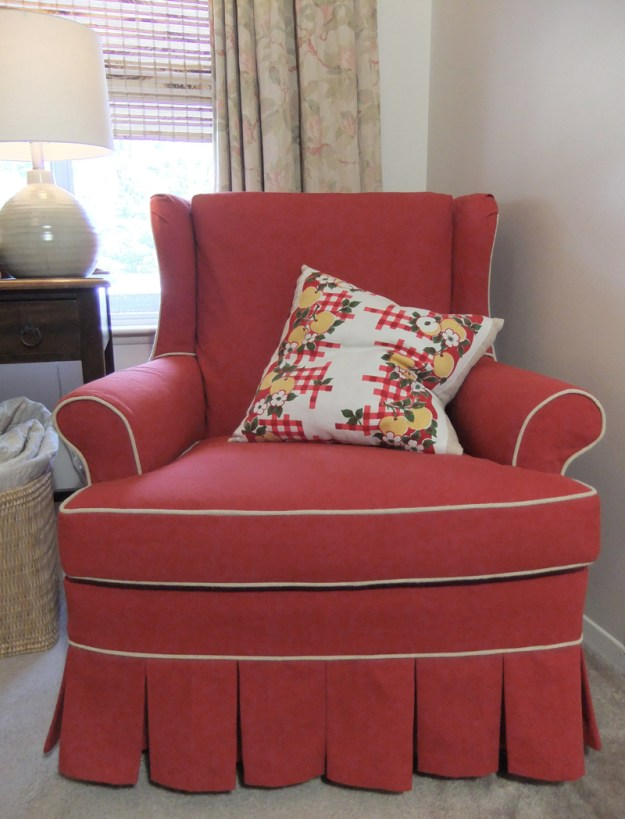 Canvas Slipcover by slipcovermaker.com