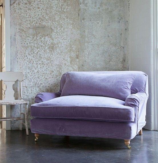 Inspired by Washable Velvet Slipcovers