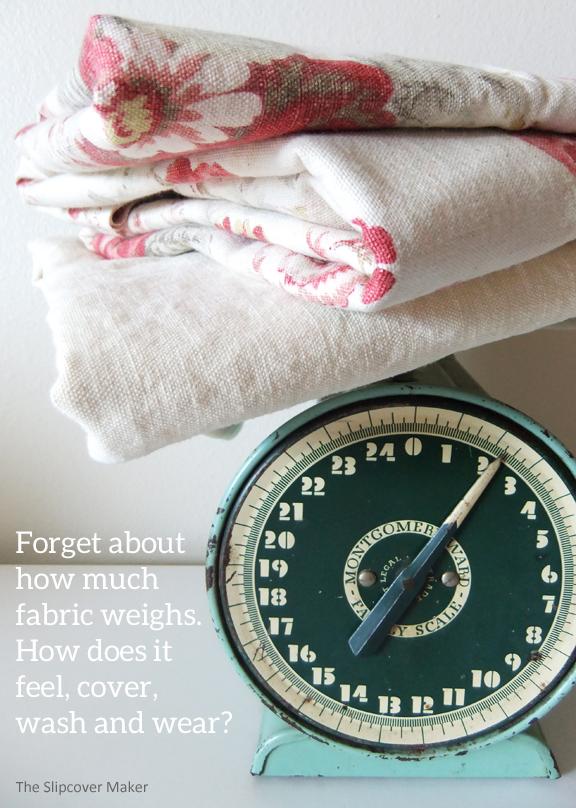 Slipcover Fabric Weight