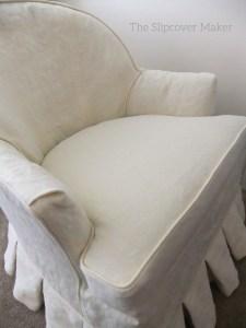 Hemp Chair Slipcover Natural
