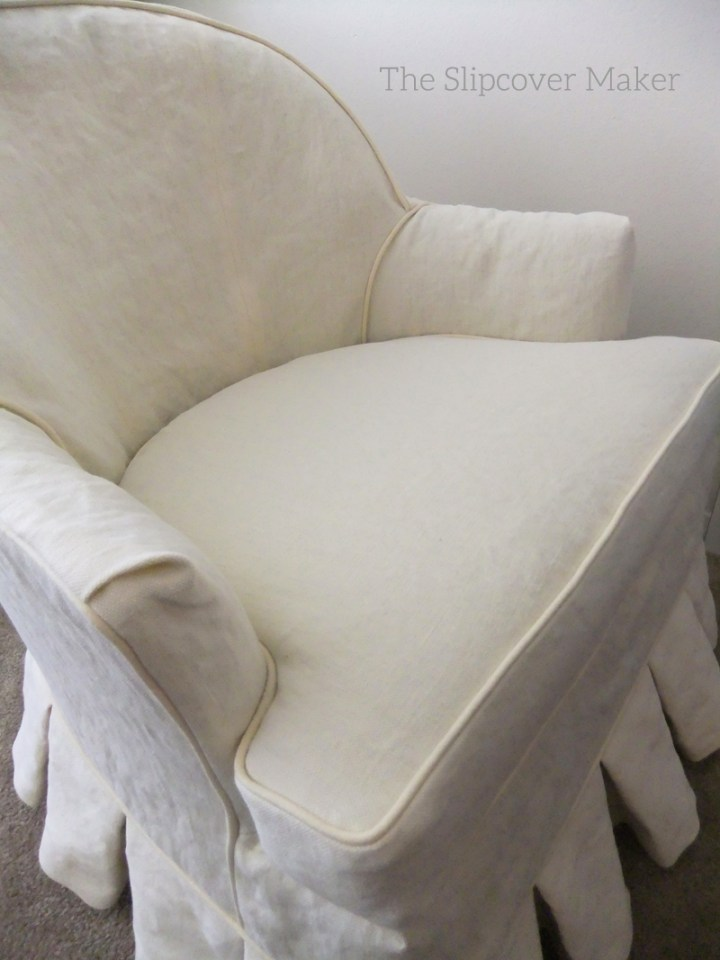 Hemp Chair Slipcover Natural