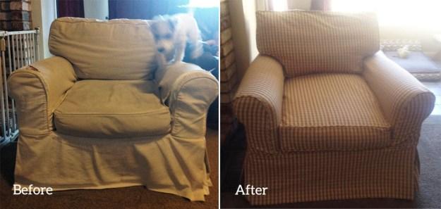 Custom Slipcover for Restoration Hardware Chair