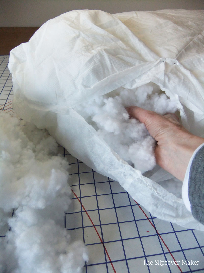 Filling Sofa Cushion With New Fill