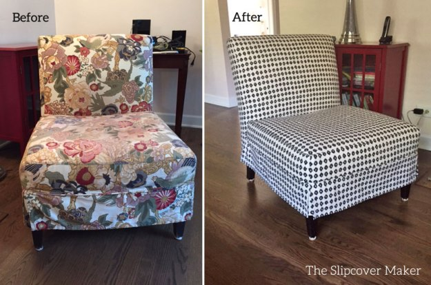 Custom Slipcover for Pottery Barn Brooks Chair