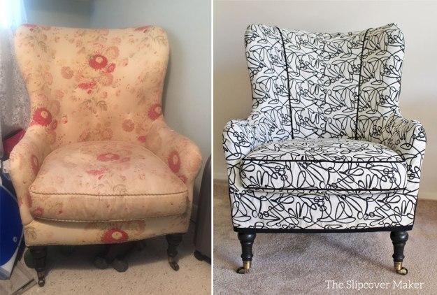Custom Slipcover For Arhaus Chair