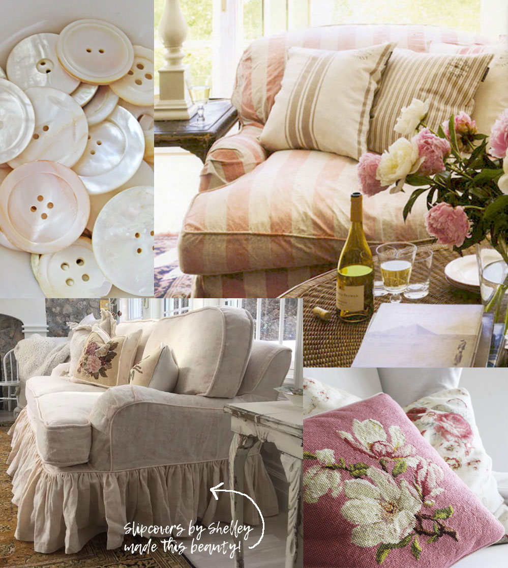 Pink Slipcover Trend Ideas