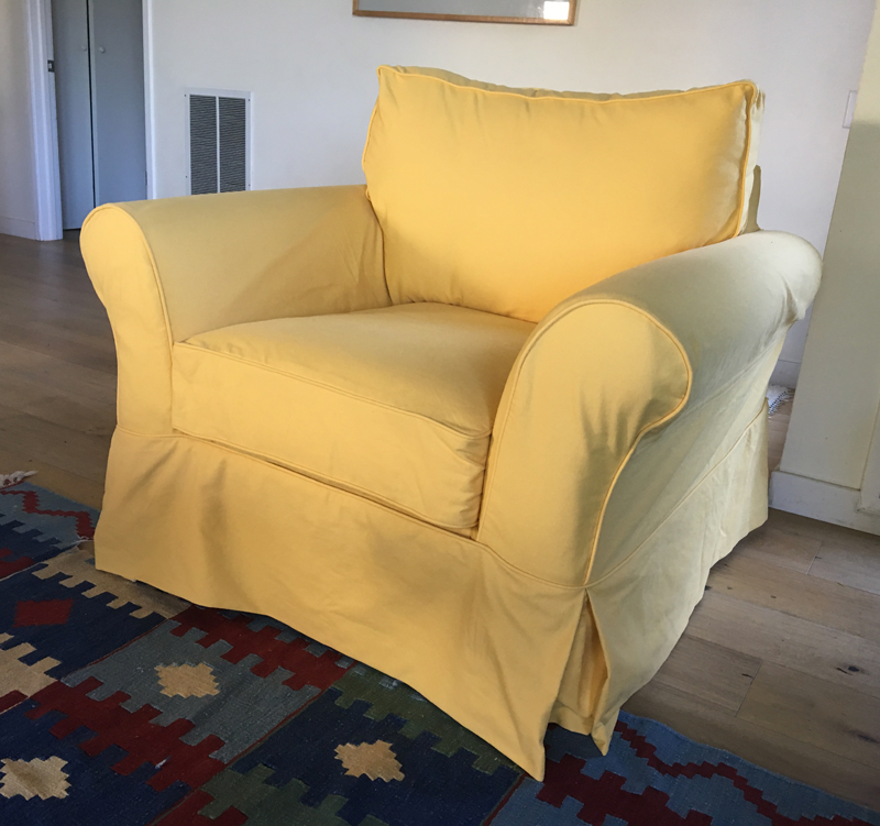 Why I Cut Up This Brand New Pottery Barn Slipcover