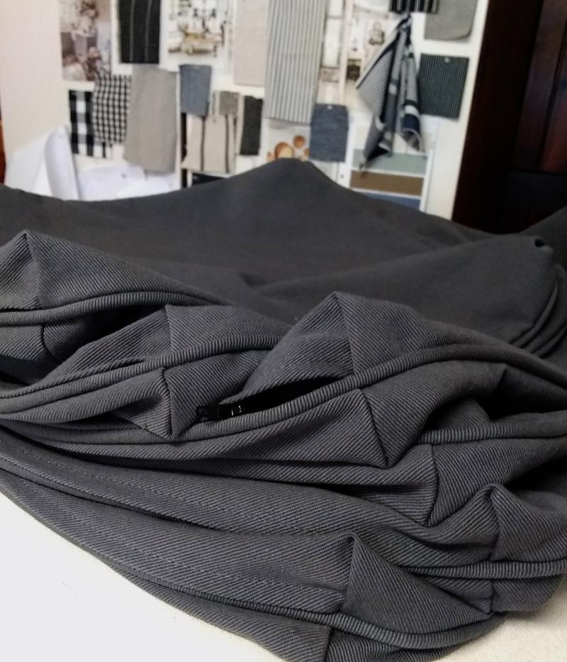 Grey Denim Fabric: 7 Favorites for Washable Slipcovers